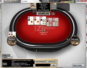 Izi Poker recensione cash game