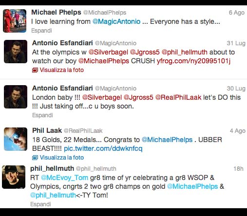 Micheael Phelps twitter