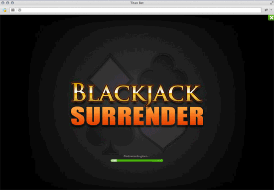 blackjack surrender su Titanbet Casino