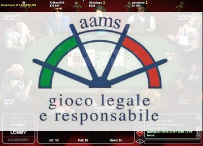 poker rooms aams